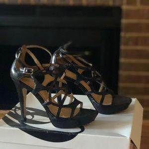 Sexy black heels-  Size 4.5